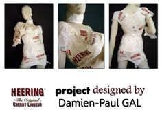 Heering project - Robe thermoformé de sacs plastique Heering - 2009