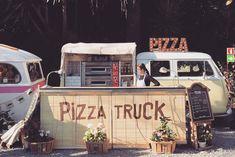 Palo Alto Market, Barcelona #pizzatruck #kombi #popup