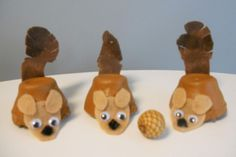 Nutty Squirrel Craft and Game