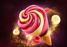 Nestle Extreme ice-cream cone on Behance