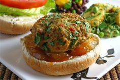 Chicken Pecan Bulgur Burgers Recipes — Dishmaps