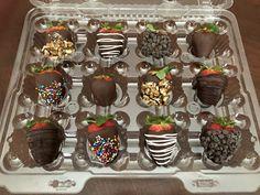 Chocolate Covered Strawberries, Strawberry, Cake, Desserts, Food, Chocolate Coated Strawberries, Tailgate Desserts, Pie, Chocolate Dipped Strawberries