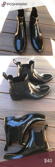 BRAND NEW Sam Edelman rainboot booties Brand new. Women's size 8. Waterproof. Sam Edelman Shoes Winter & Rain Boots