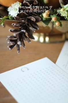 Free printable Thanksgiving word search & other fun activities