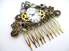 Steampunk Comb Hair_Hair Accessories_Watch Hair by MultiStyle