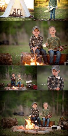 (c) chubby cheek photography campfire mini sessions