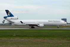 Ansett MD 11 Melbourne Tullamarine, Mcdonnell Douglas Md 11, Australian Airlines, Airline Logo, Air Photo, Air New Zealand, Commercial Aircraft, Civil Aviation, Boeing 747