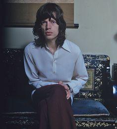 Rolling Stones  Mick Jagger 1971