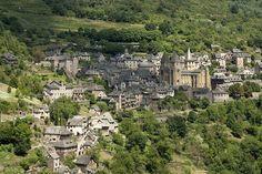 Conques, Aveyron, Midi-Pyrénées