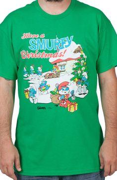 Smurfy Christmas Shirt
