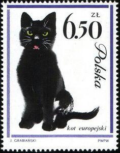 Postage stamp (Poland), designed by Janusz Grabianski