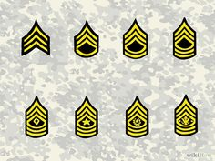 How to Identify Military Rank (US Army): 4 Steps (with Pictures)