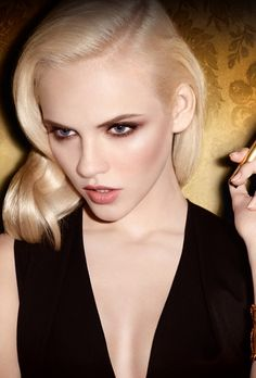 Ginta Lapina by Terry Richardson for YSL
