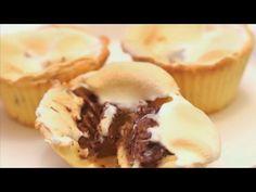 焼きマシュマロのスモア風カップクッキー☆ホットケーキミックスで簡単 C CHANNELレシピ - YouTube