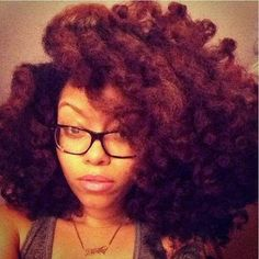 Big stretched twist-out...watch out humidity