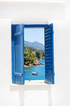 window, Halkidiki