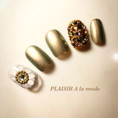 flower painting footnails shortnails ネイル フラワーネイル ストーン埋め尽くし♪#nailbook