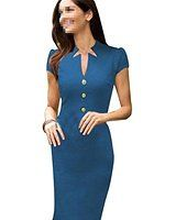 janecrafts femme elssgante robe fourreau crayon parti robe de bureau genou de robe de soirsse stuff to buy dresses business dresses office dresses