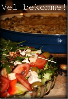 Karbonadedeig og pasta i form | På kjøkkenbenken | God mat skal lagast med kjærleik og rause målPå kjøkkenbenken | God mat skal lagast med kjærleik og rause mål