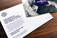 Refonte d'identité visuelle, brochure et emballage pour un artisan chocolatier.  Rebranding , brochure and packaging for a chocolate artisan.  Agence: Sebastien Cantin Designer Graphique  Designer Graphique: Sebastien Cantin Client: Alter-direct International (Carleton-sur-Mer, Québec, CA)