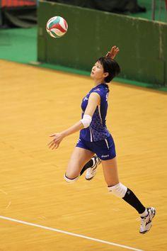 Saori Kimura, japanese volleyball player