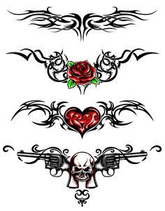 ✦ Pinterest: @Lollipopornstar ✦ Lower back tattoos