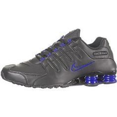 Nike Shox NZ Mens Running Shoes [378341-026] Black/Drenched Blue Mens Shoes 378341-026-9.5 (Apparel) #fashion sneakers #fashion #sneakers #women fasion sneakers #