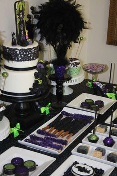 Maleficent Birthday Party Ideas | Photo 1 of 56 | Catch My Party