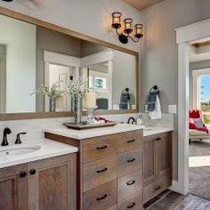 Master Bathroom with dual vanity | Eagle, Idaho | Highland Homes