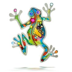 Seeka Tropical Tree Frog Nature Pin from The Artazia Collection P0711 ** Want to know more, click on the image.