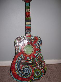 another fabulous mosaic guitar