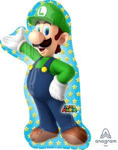 Muotofoliopallo;+Luigi+50+cm+x+96+cm