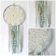 DIY Crochet Dream Catcher tutorial by Toni Lipsey of TL Yarn Crafts via FibreShare