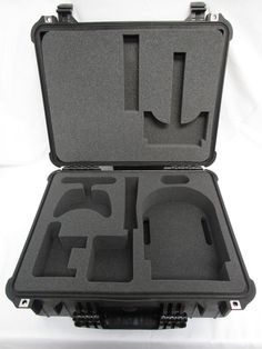 Oculus Rift VR System Custom Foam Insert For Pelican Case 1550 – Cobra Foam Inserts and Cases