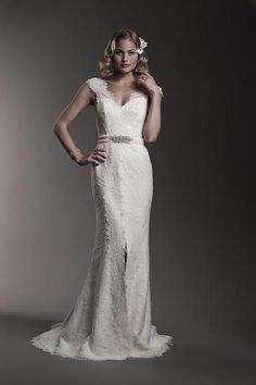 18deaef8ee Amy Kuschel Rita gown just in at Lana Addison Bridal! We are loving the lace