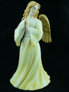 Gorham Porcelain Angel Bell Figurine Vintage 1986