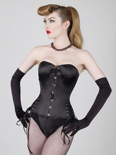 21240098d70 Corsets with multiple ties or adjustments