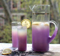 lavender lemonade  http://ilovewildfox.com/iloveyouwildfox/2011/6/23/inn-brooklyn-recipe.html