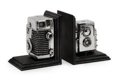 Vintage Camera Bookends by IMAX Worldwide Home, http://www.amazon.com/dp/B0032FJTF2/ref=cm_sw_r_pi_dp_8fn5rb1X6GK5B