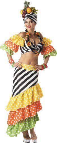 Amazon.com: Carmen Miranda Costume: Clothing