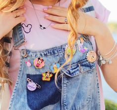 Disney pins have made their way from lanyards at the Parks to everyday fashion.