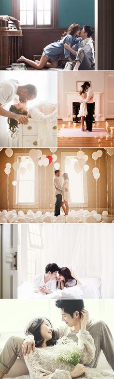 IMPORTANTE él elige piso que ella no ve, está vacío, cuando ella va está lleno de globos, se quedan en hotel una noche hasta que llegan muebles