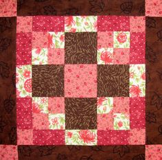 resolution square quilt block pattern | Starwood Quilter