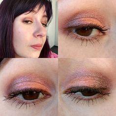 Heute gibts #mac auf den Augen: Als Base #paintpot in #stormypink darüber dann #macpigments in #pinkbronze und #goldstroke  #maccosmetics #macpinkbronze #macgoldstroke  #eyesoftheday #eotd #eyes #eyemakeup #amu #augenmakeup #eyelook #makeupoftheday #face #faceoftheday #fotd #selfie #selfies #me #itsme