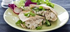 Bye bye boring sandwiches! Liven up your #lunchbox with scrumptious smoked mackerel pittas.