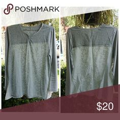 Selling this SOFT SURROUNDINGS cotton top on Poshmark! My username is: puzzlepieces. #shopmycloset #poshmark #fashion #shopping #style #forsale #soft surroundings  #Tops
