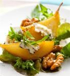 Healthy Meals To Cook, Healthy Recipes, Healthy Dinners, Pear Walnut Salad, Pear Salad, Pomegranate Salad, Arugula Salad, Blue Cheese Recipes, Winter Salad Recipes