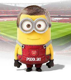 Podolski... at his finest #Arsenal