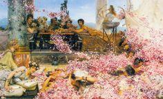 Las rosas de Heliogábalo - Lawrence Alma-Tadema (1888)