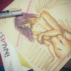 run for words... #illustration #sketch #art #pen #marker #upil #overspray